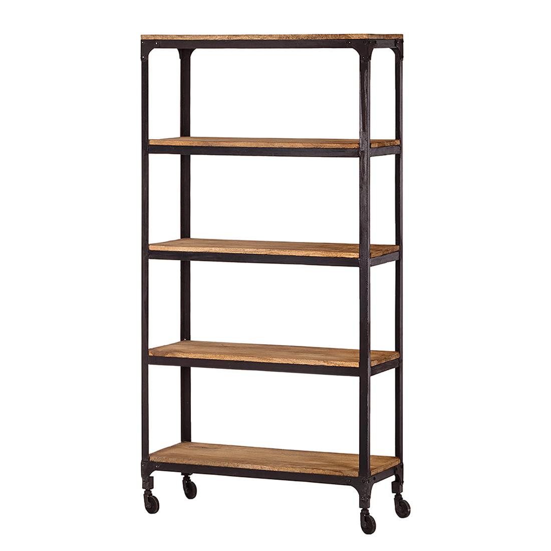 metalen rek storm  zwart gelakt  met  planken kleine meubels  - metalen rek storm  zwart gelakt  met  planken kleine meubelstiptopkadonl