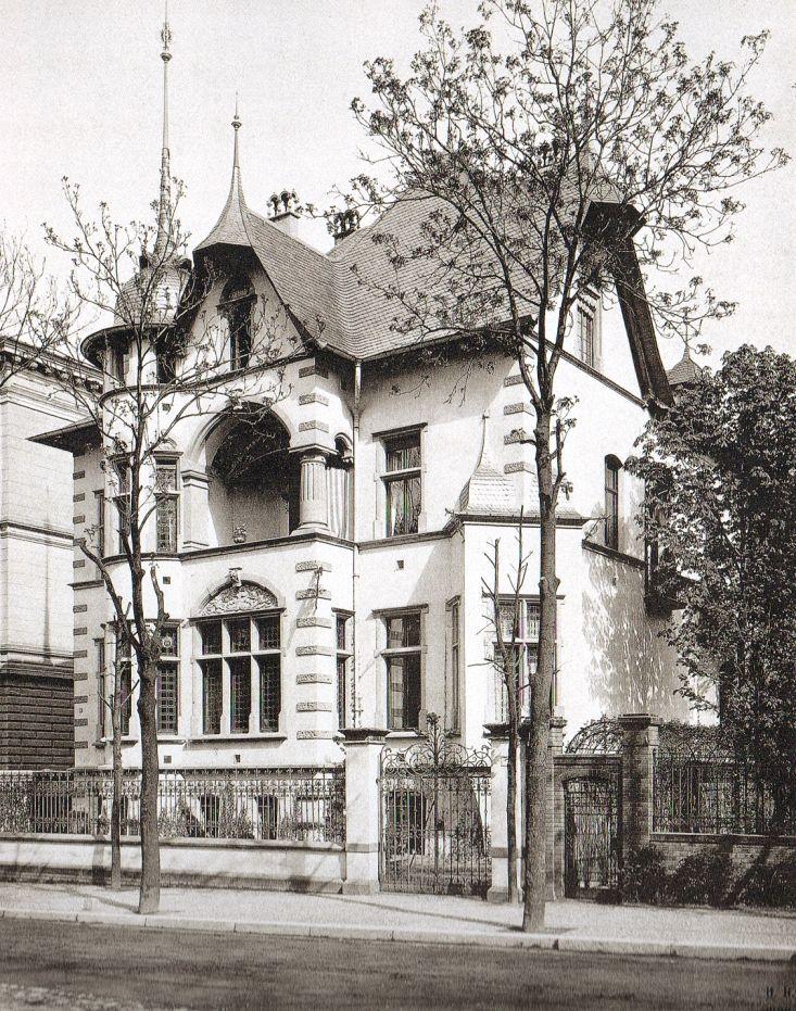1889 Berlin Wohnhaus Schwartz, Lichtensteinallee 4 (Foto