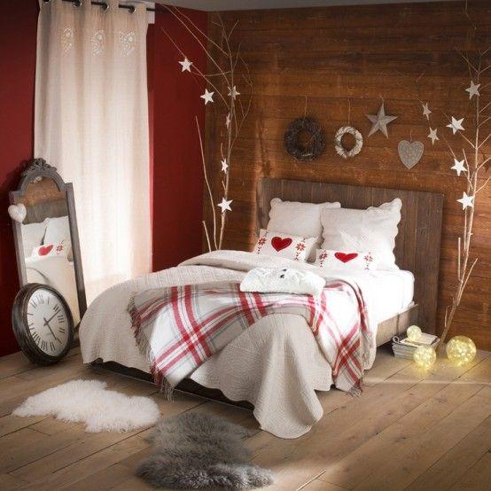 32 Decoraciones de navidad para tu dormitorio Decoracion de
