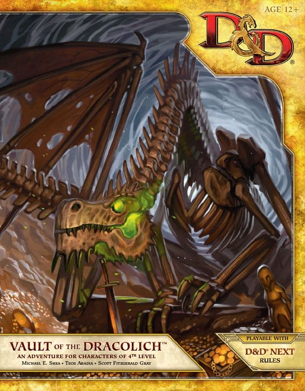D Amp D 5 0 Vault Of The Dracolich Forgotten Realms