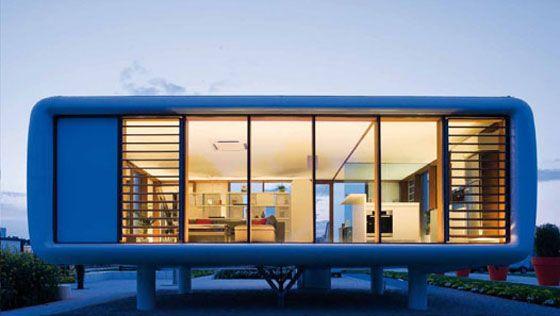 Mobili Loft ~ Loftcube tiny prefab mobile loft idesignarch interior design