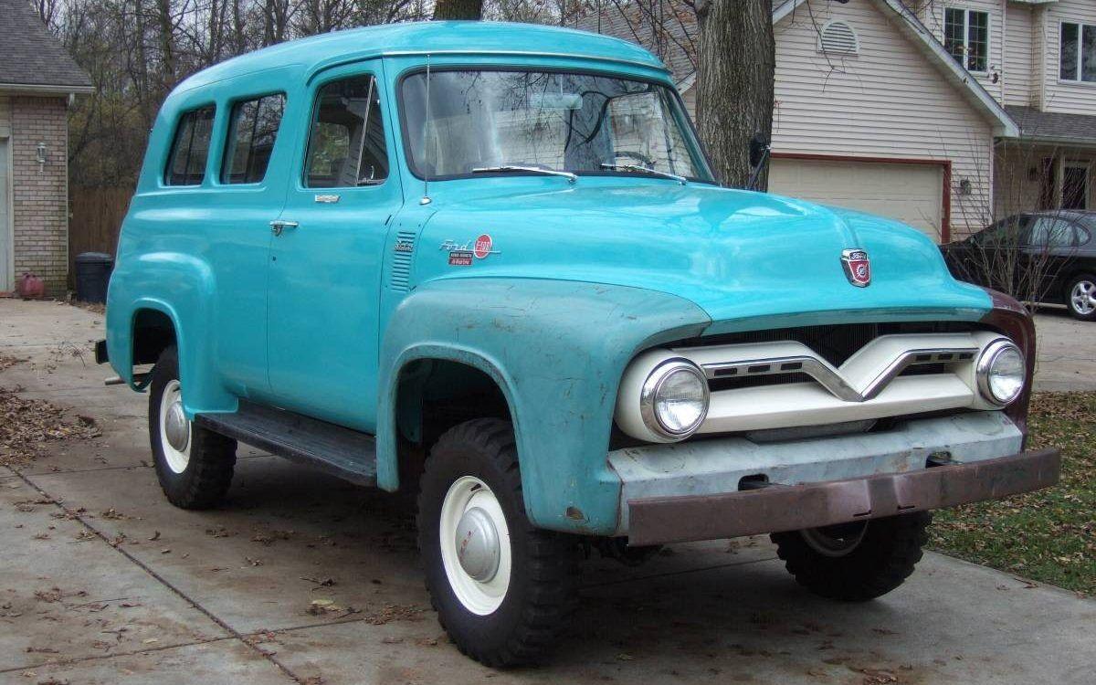 Lone Ranger 1955 Ford Ranger 4 Wheel Drive Classic Trucks Ford
