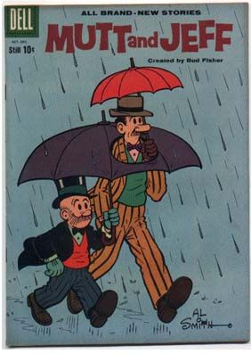 Old time comic strip mutt jeff