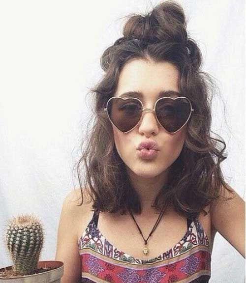 20 Curly Short Hair Pics For Pretty Ladies Kurze Lockige