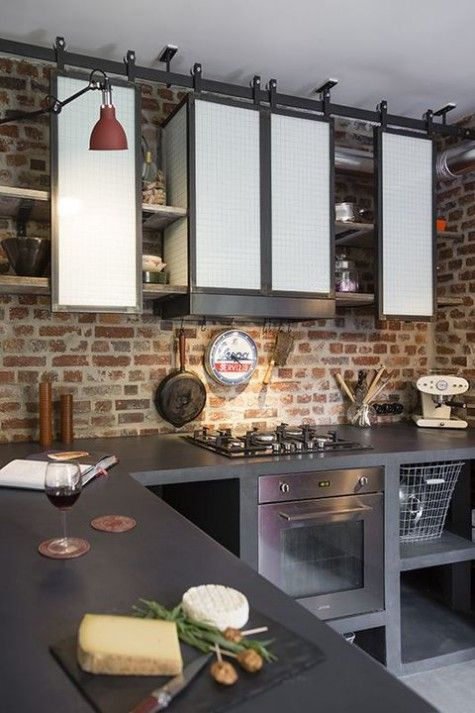 ComfyDwelling.com » Blog Archive » 30 Functional Industrial Kitchen ...