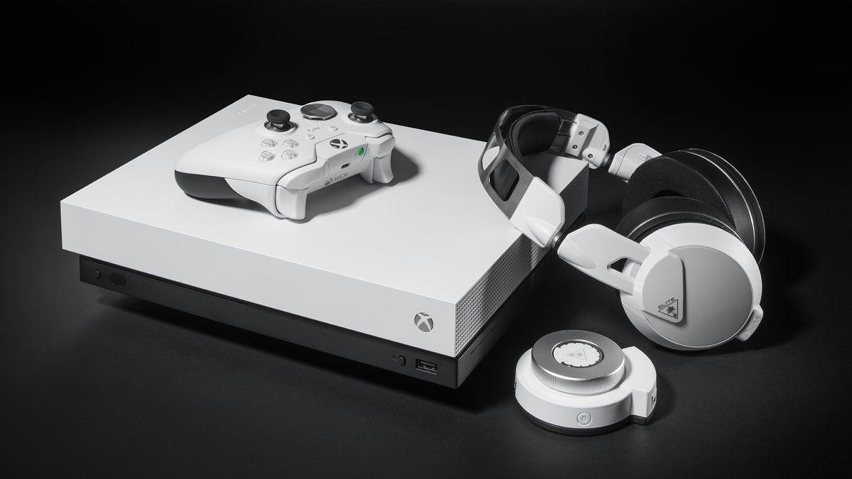 Xbox One X Elite Controller Go Bright In White Later This Year Xbox One Xbox One Controller Xbox