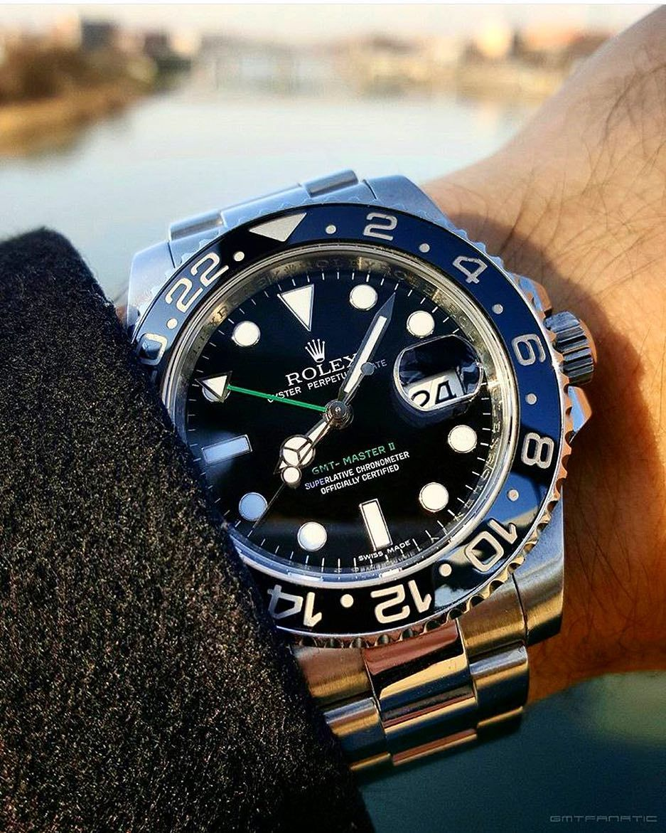 d36c316f190 Classic One 116710LN Rolex GMT Master II Like the Green Details. How can you  not