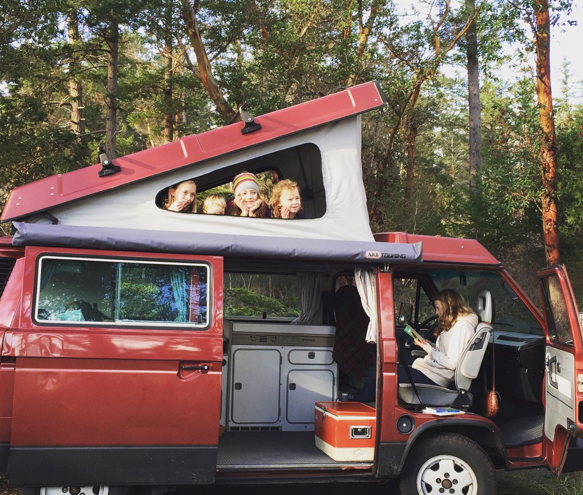 Peace Vans Rentals Provides All The Fun Of Camping Minus The Hassle Camper Rental Minivan Camping Camper Van