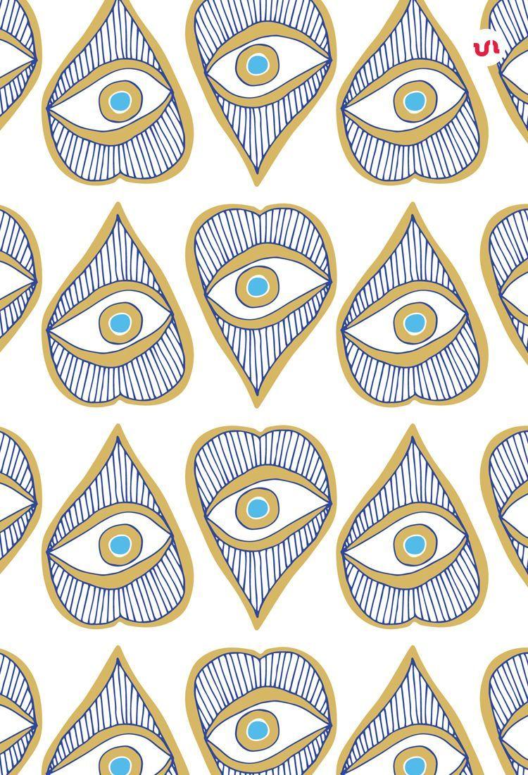 Evil Eye Illustrations Patterns Eye Illustration Eyes Wallpaper Eye Art