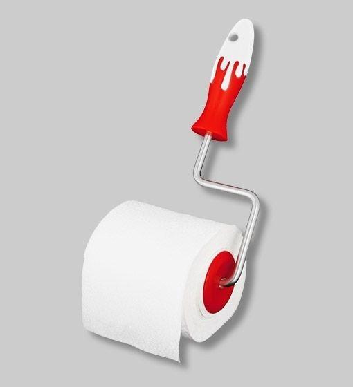 d rouleur papier toilette sploosh rouge pylones construction maison pinterest decoration. Black Bedroom Furniture Sets. Home Design Ideas