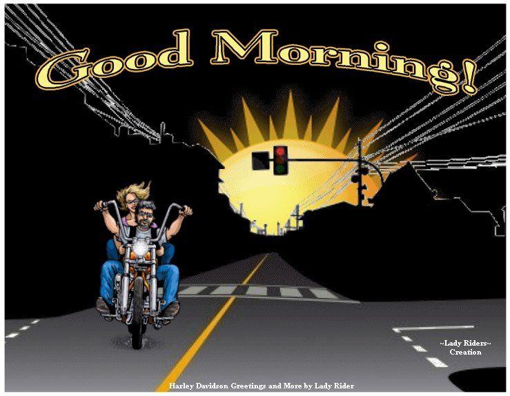 Good Morning Harley Davidson Pictures Harley Bikes Harley Davidson