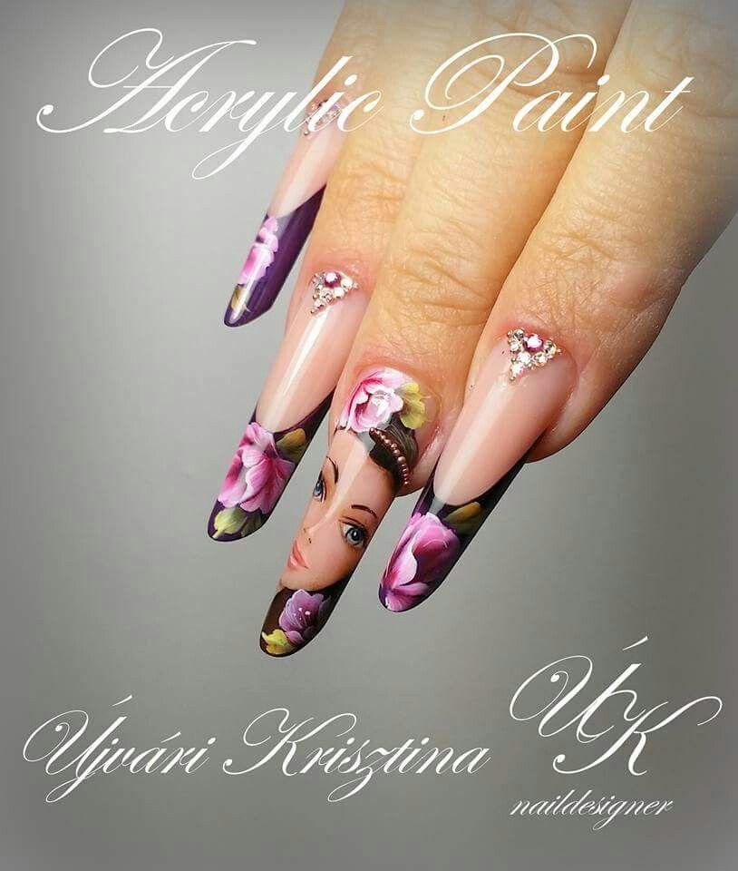 Pin by 20 DM Nails on Újvári Krisztina   Pinterest   Exotic nails