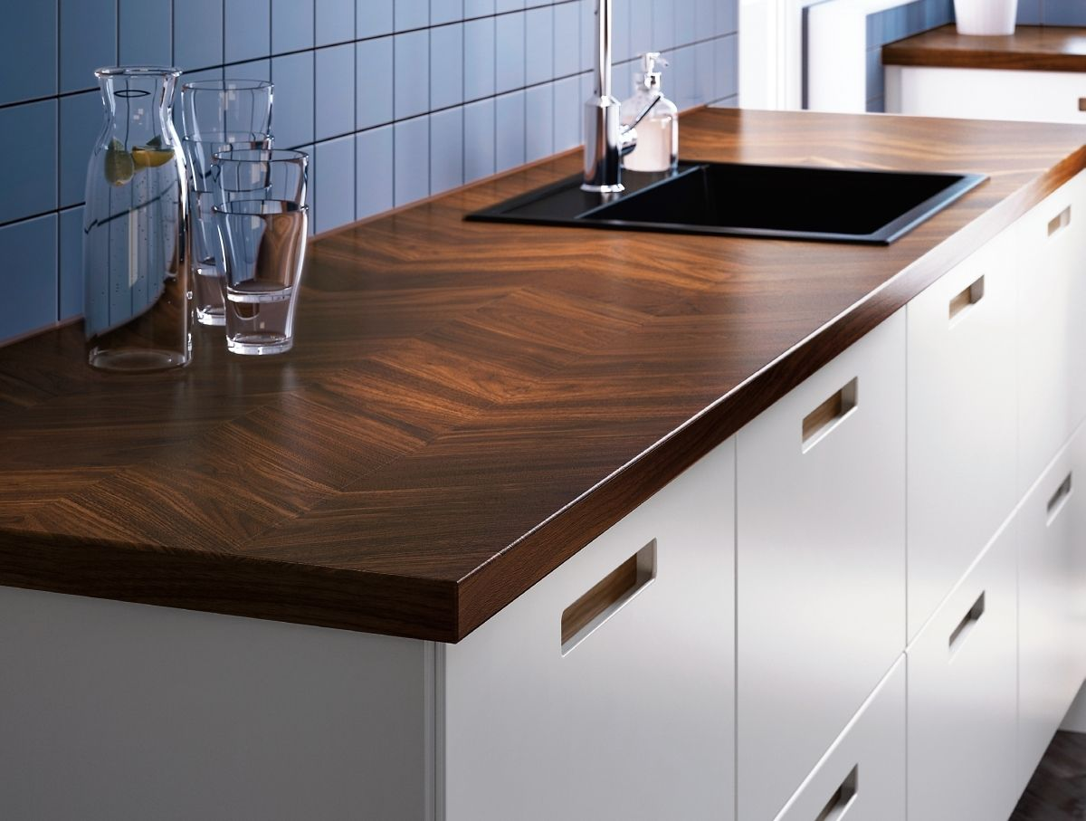 Blat Ikea Barkaboda Drewno Orzechowe Ikea New Kitchen New Kitchen Designs Kitchen Remodel