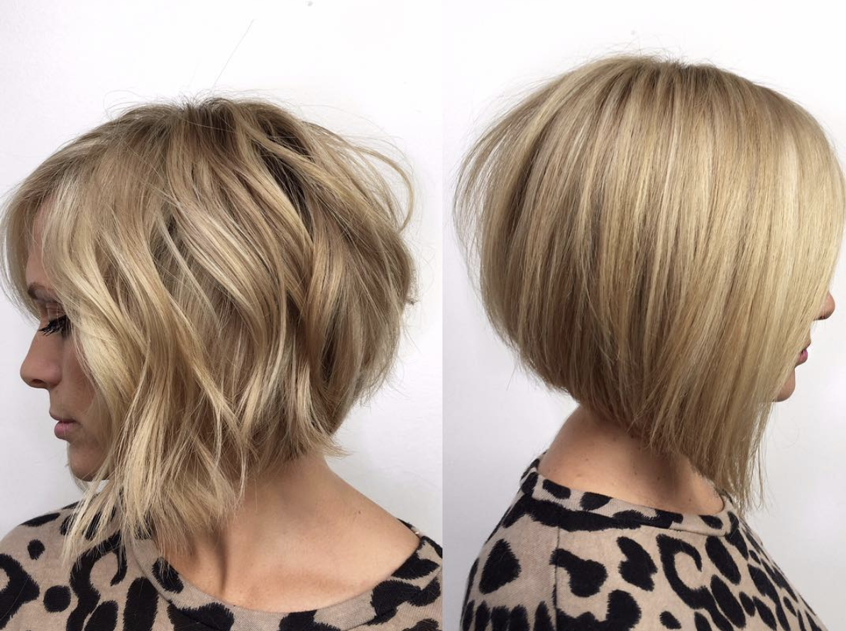 Short Angled Bob Hairstyles Topsimages