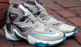nike lebron 13 blue lagoon sneaker release dates december 2015 thumb ... 4a48b81a89