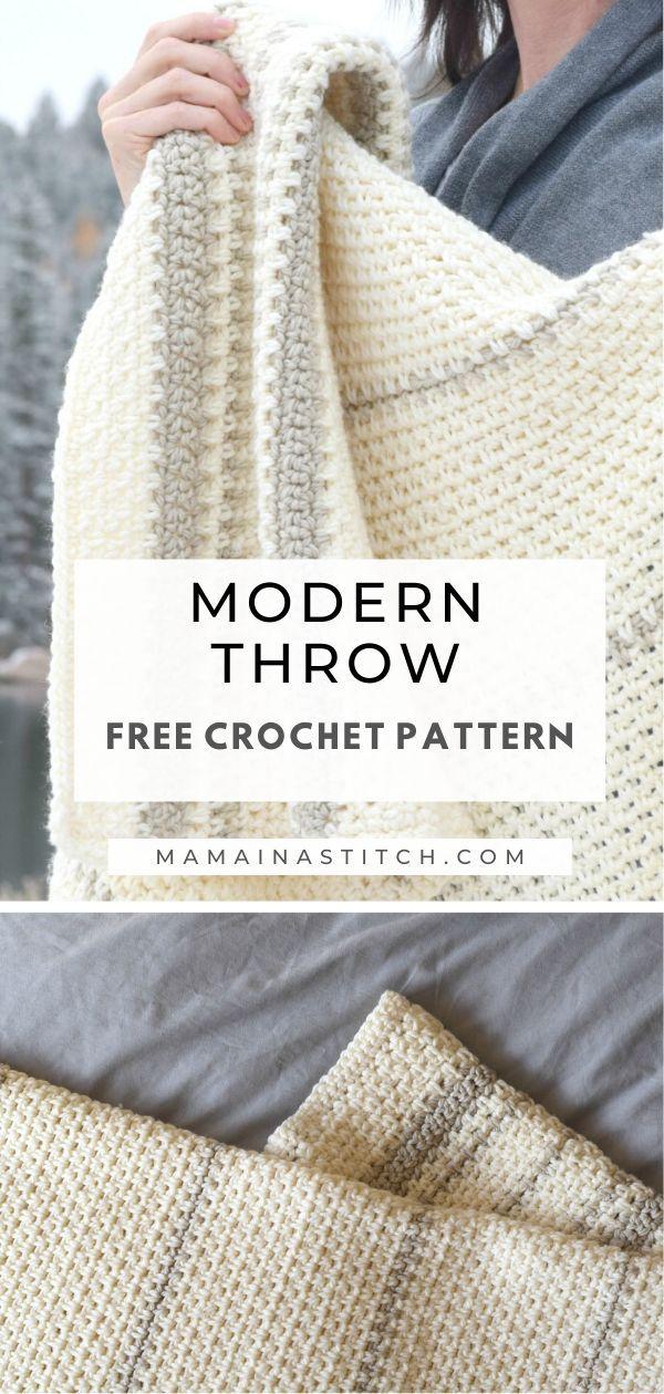 Photo of Mod Heirloom Crochet Blanket Pattern