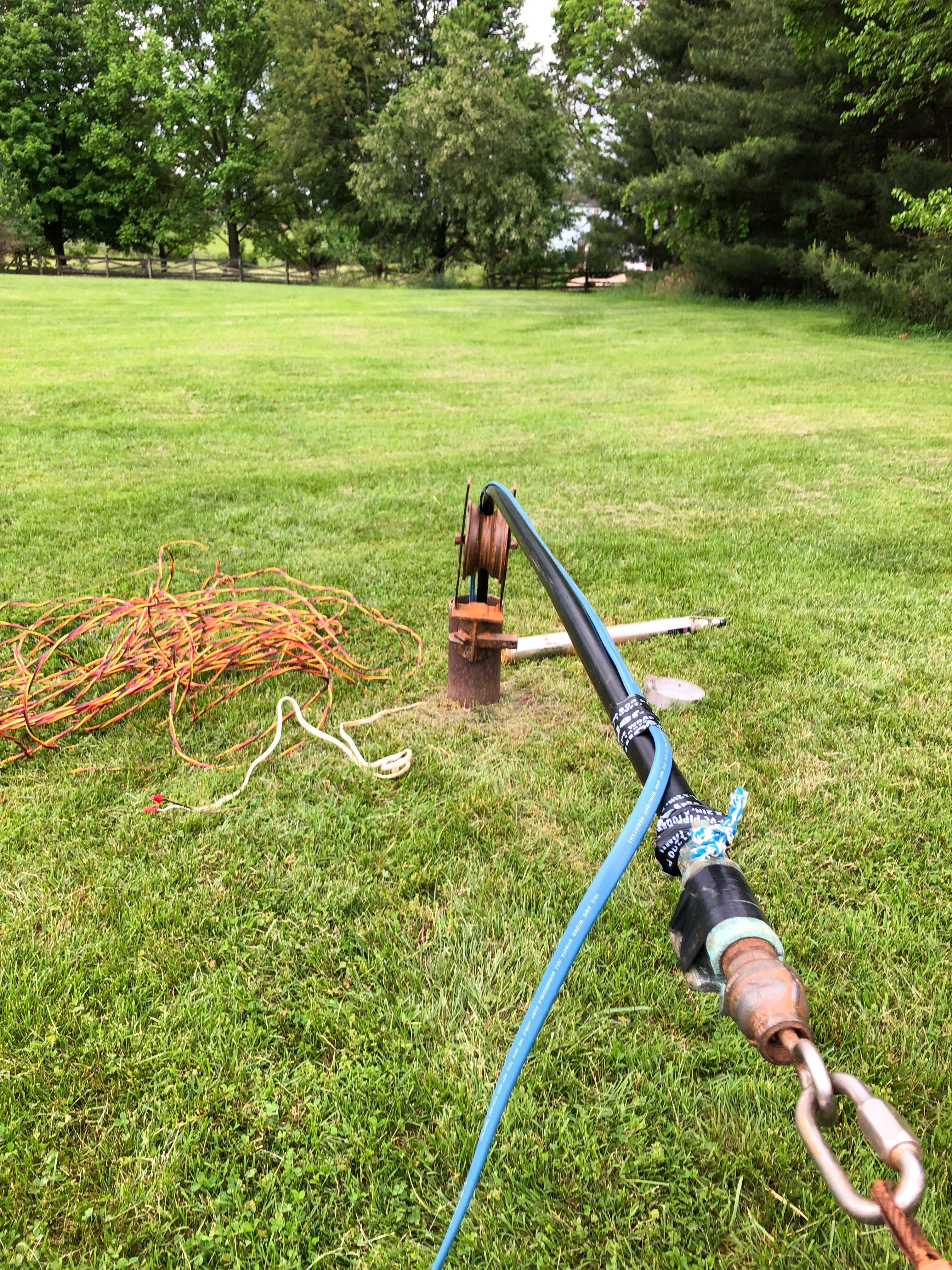 Pulling The Well Pump Well Pump Water Treatment Water Quality
