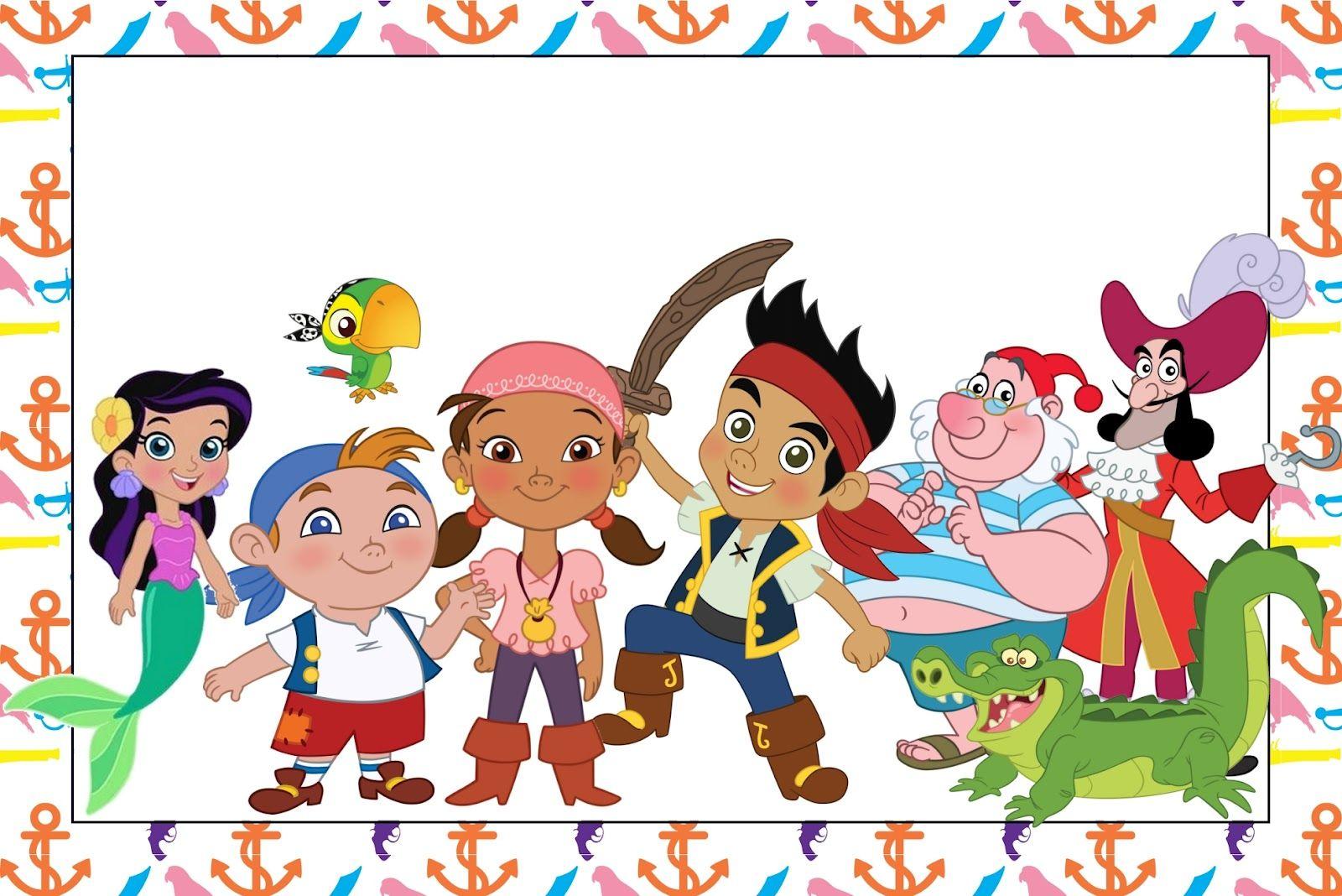 Jake y los piratas de nunca jamas - Nocturnar | piratas | Pinterest ...