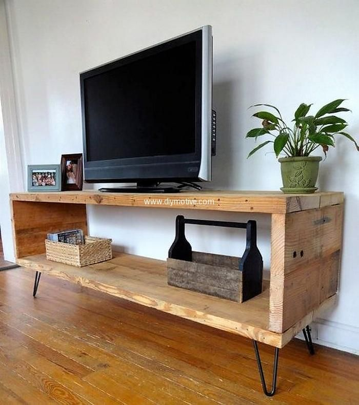 Pallet Tv Stand Part - 50: 80 Ideas For Pallet Wood Repurposing. Pallet Tv StandsCupboard ...