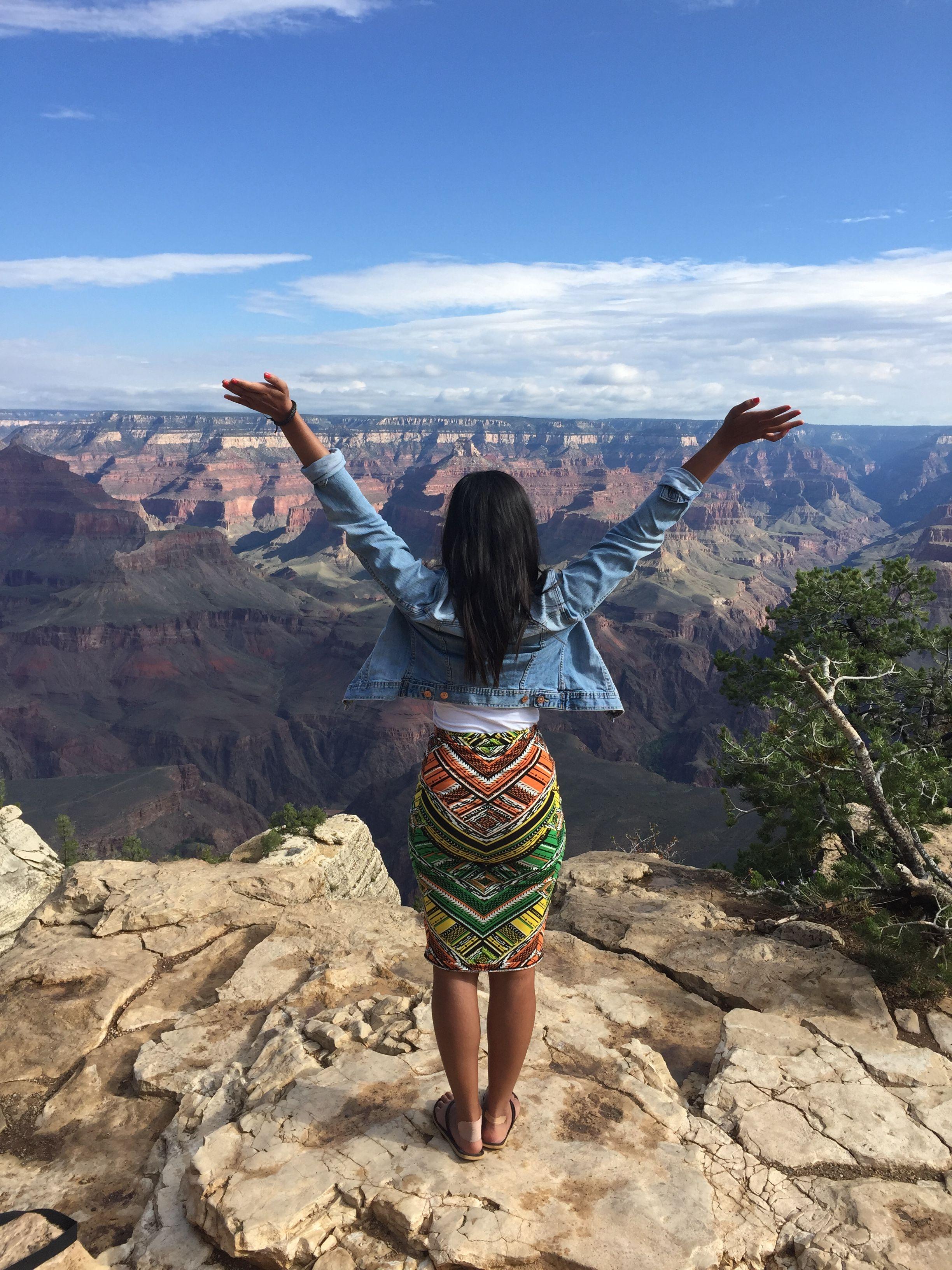 View of the Grand Canyon AZ