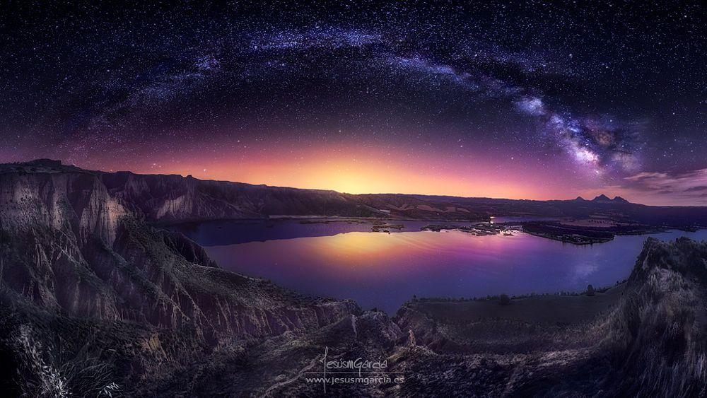 Milky Way over Las Barrancas 2016 by Jesús M. García on 500px
