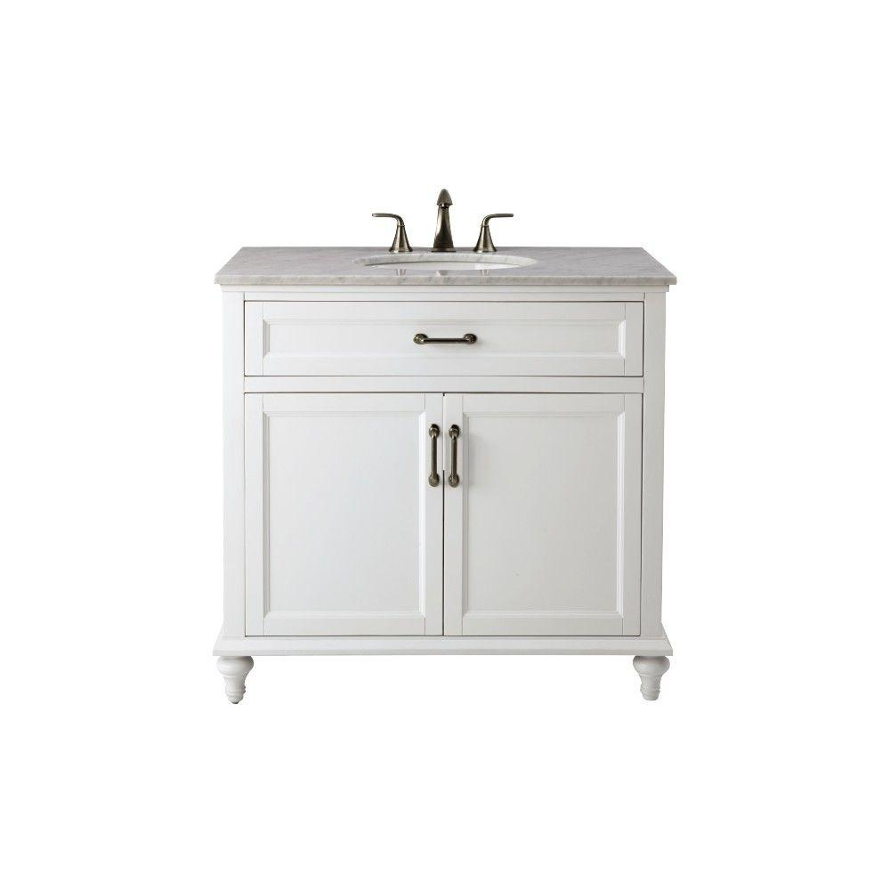 Amazing Home Decorators Collection Charleston 37 In. W X 35.25 In. H Bath Vanity In