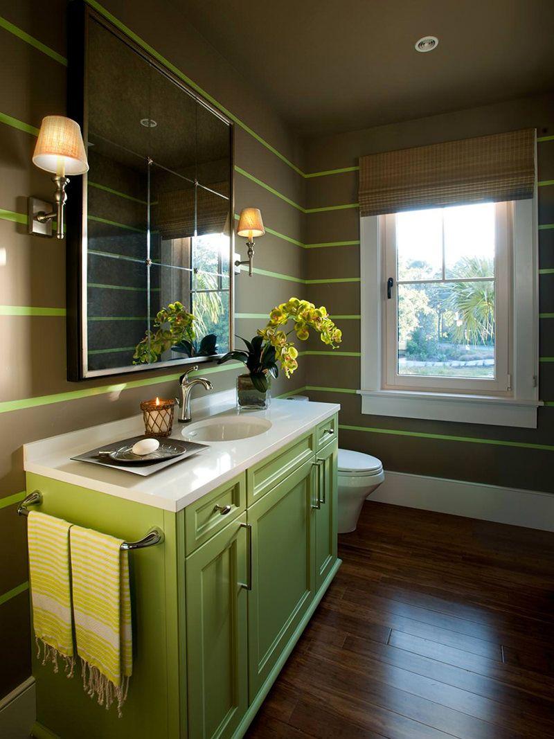 Pattern Stories Rustic Bathroom Decor Green Bathroom Bathroom Decor