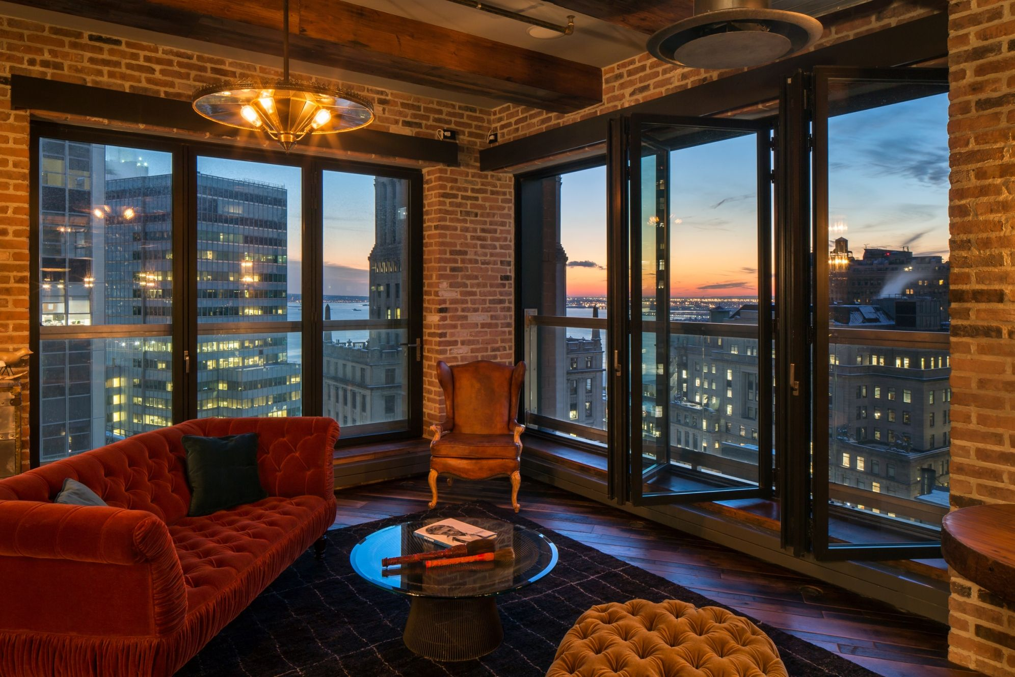 The Penthouse at The Setai Wall Street is one of the most lavishly