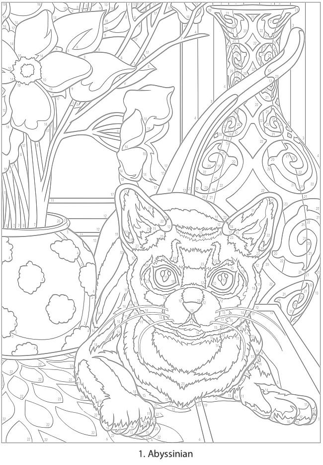 Welcome to Dover Publications - CH Cats CB# | coloring | Pinterest ...
