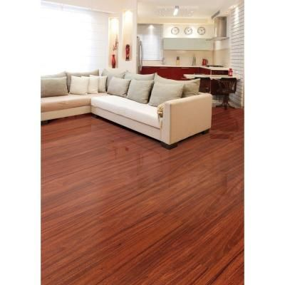 Home Legend High Gloss Santos Mahogany 10mm Thick X 5 In Wide X 47