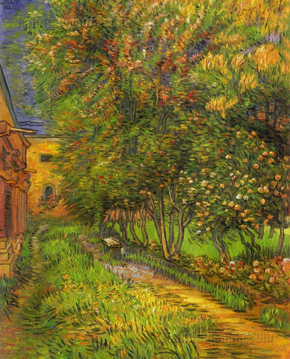Arte Abstracto Hospital The Garden Of Saint Paul Hospital Vincent Van Gogh Van Gogh