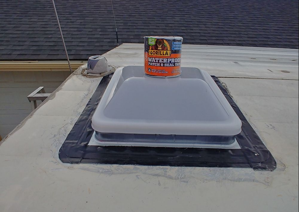 How To Replace An Rv Roof Vent With Gorilla Glue Waterproof Patch And Seal And A Giveaway Roof Vents Seal