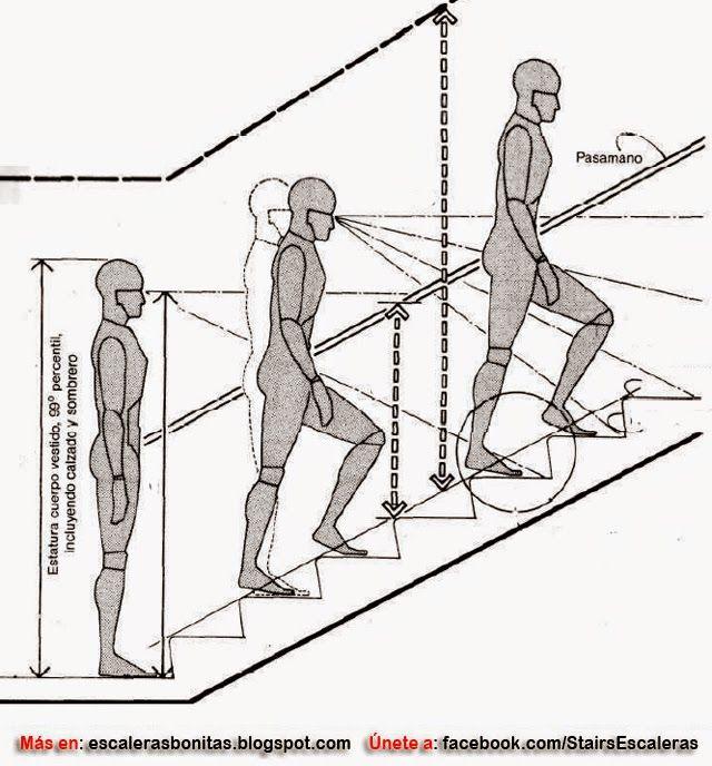 Dimensiones para escaleras de casas escaleras for Dimensiones de escaleras