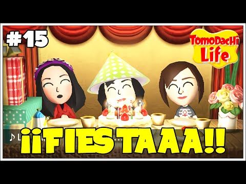 Tomodachi Life T2.15   Estamos de cumpleaños!
