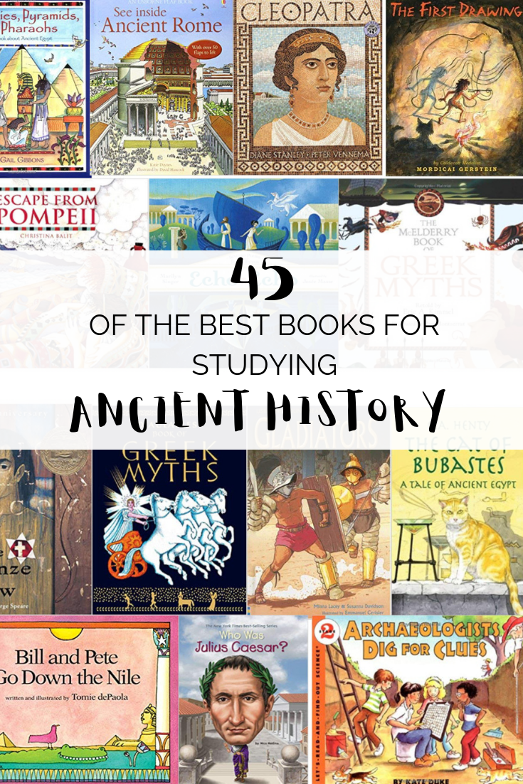 Photo of 45 of the Best Picture Books for Studying Ancient History