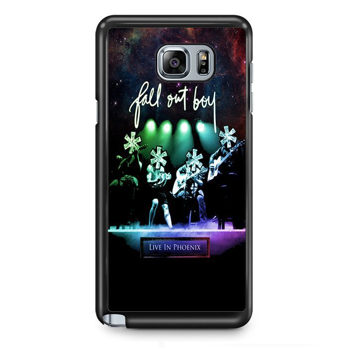 Fall Out Boy Live In Phoenix Samsung Phonecase For Samsung Galaxy Note 2 Note 3 Note 4 Note 5 Note Edge