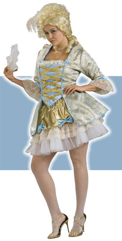 Sexy Plus Size Marie Antoinette Costume  sc 1 st  Pinterest & Sexy Plus Size Marie Antoinette Costume | Halloweu0027en costume ideas ...