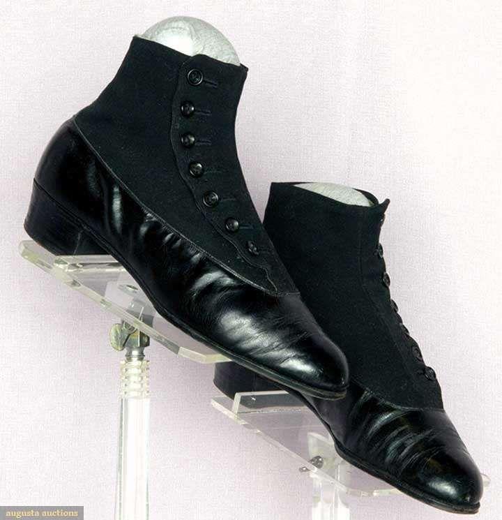 Zapatos High C Shoes Button Auctions April Epoque · Germany Mens' Belle 1910 Augusta qIw8EgZn
