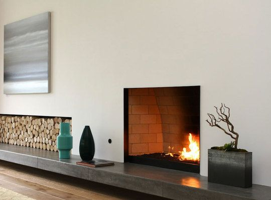 A look inside 4 contemporary los angeles homes home - Ideas to cover fireplace opening ...