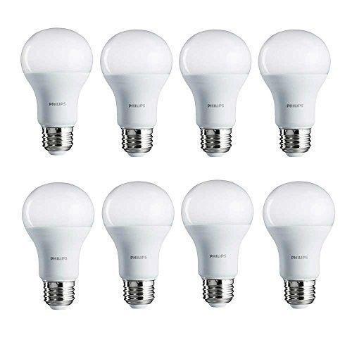 Led Light Bulb 8 Pack 100w Equivalent 14w Natural Daylight Day Lighting 110v A19 Philipsledlightbulb8pack Led Light Bulb Light Bulb White Light Bulbs