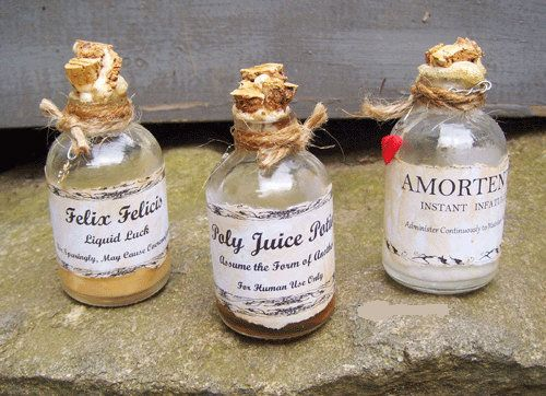Halloween Decorations Potion Bottles Cool Wizard Potion Bottles Halloween Decoration Witch Magic Spell Design Inspiration