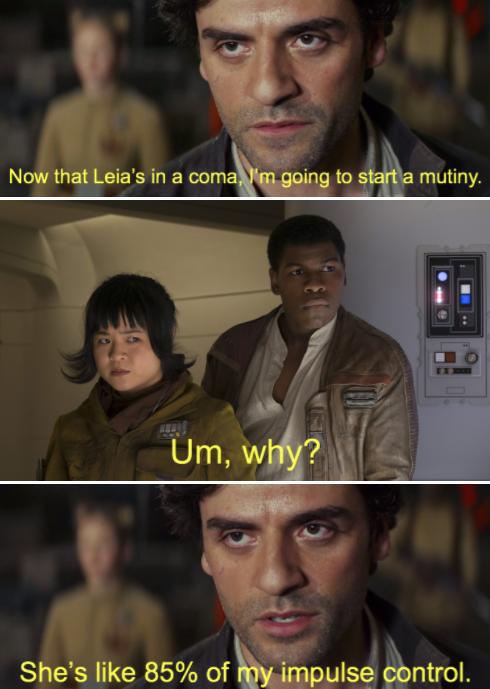 Poe Dameron In A Nutshell Star Wars