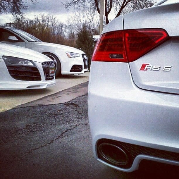 "@audi's photo: ""All dressed in white... seen through the lens of @msport1223"""