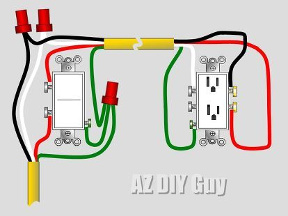 Wiring a Split, Switched Receptacle. | Laundry room | Wiring ... on