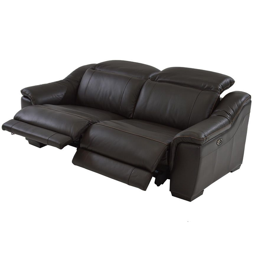 Davis Brown Power Motion Leather Sofa Leather Reclining Sofa