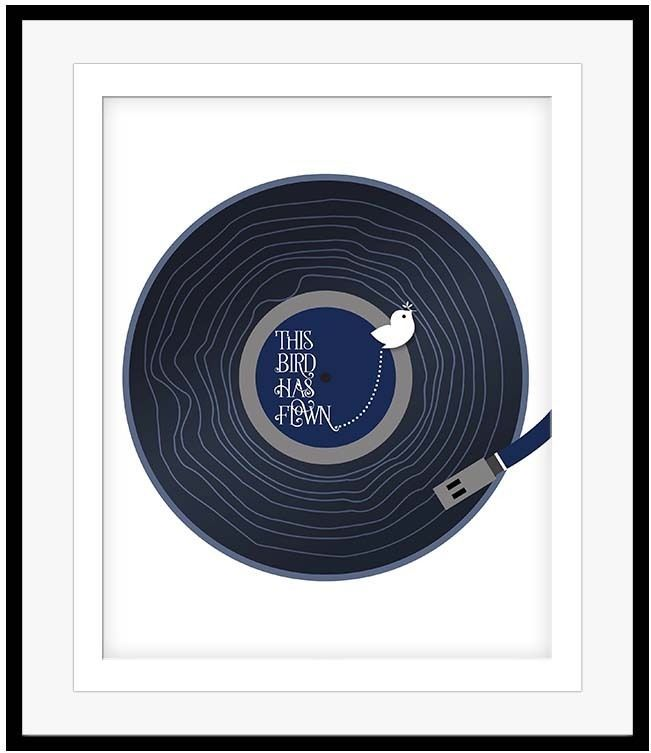 THE BEATLES Song Lyric Music Poster NORWEGIAN WOOD Print Wall Art ...