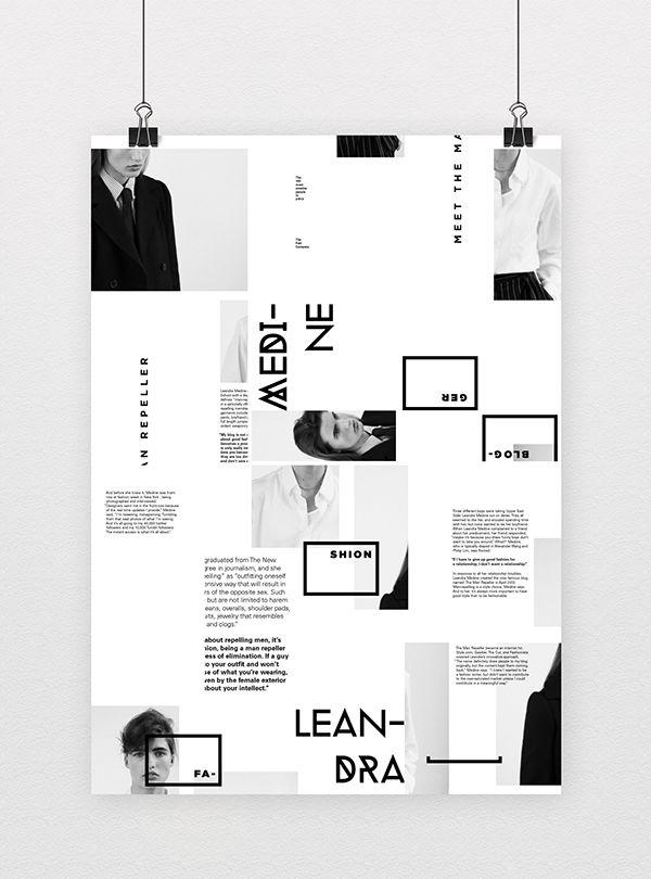 Informative Poster System on Behance Layouts Pinterest Behance