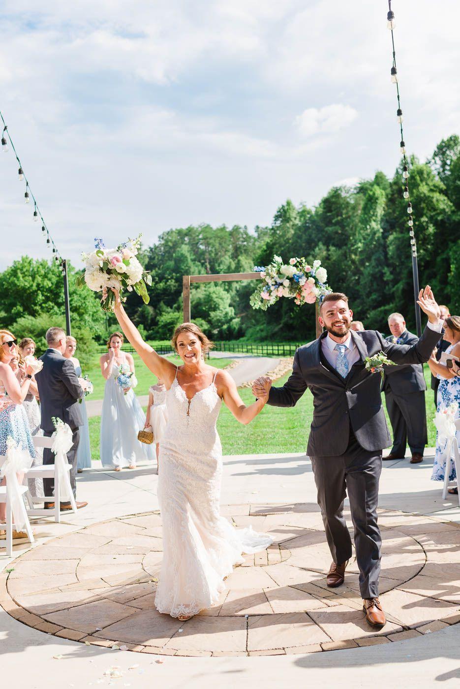 A Modern Barn Wedding Gatlinburg TN   Outside wedding ...