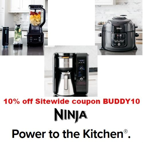 Ninja Kitchen Coupons 10 Off Sitewide Code Buddy10