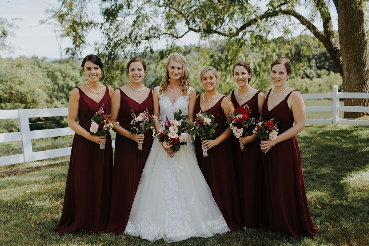 Fall in love with this autumn romance wedding at a family farm